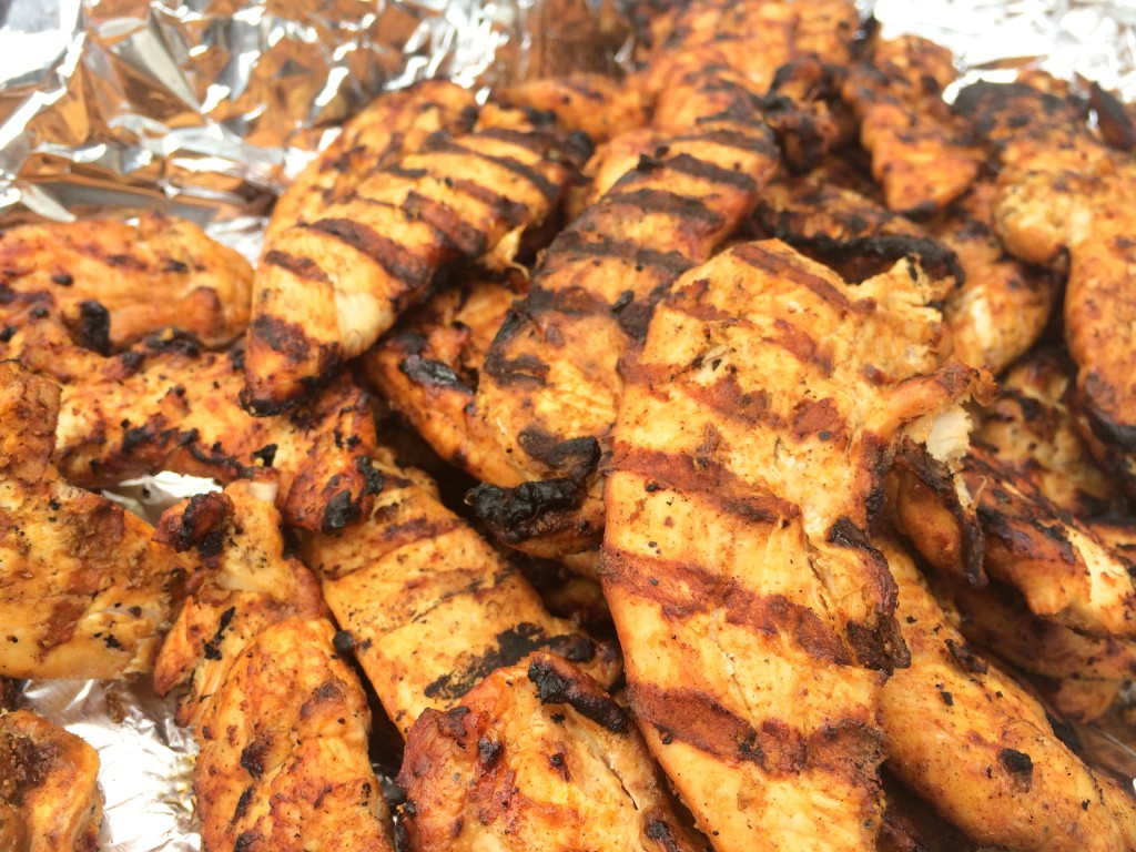 Grilled Chicken Tenders